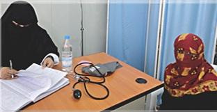 Fünf Tage in der Woche ist die Ambulanz im Mazraq Camp III geöffnet