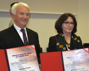 Dragutin Matak und Dubravka Šimonovic