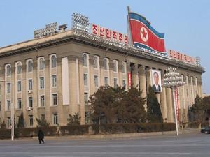 Kim-Il-sung-Platz, Pjöngjang, Nordkorea