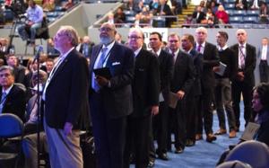 Diskussion beim Exekutivausschuss der adventistischen Weltkirchenleitung 2018 zur Einführung der Richtlinie zu Regelverstössen
