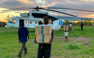 WFP-Nahrungsmittellieferung in Mosambik 2019